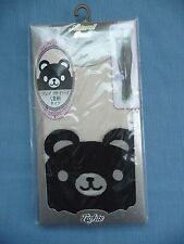 Natural Basic Tights Japan Stockings M/L Junior Koala Bear Black Nude US SELLER