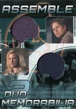 Avengers Assemble AD-13 Bruce Banner / Thor Dual Memorabilia Relic Card