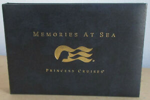 Princess Cruises Photo Album Binder Holds 30 Photos 4 7/8 X 7 Pictures & Smaller