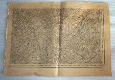 ANCIENNNE CARTE / PLAN DE LECTOURE 1925
