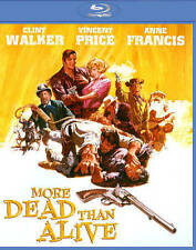 More Dead Than Alive Blu-ray kino Clint Walker, Vincent Price brand new