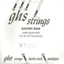 Corde basse 1 corde GHS-DYB60 - à l'Unité - Long Scale Plus