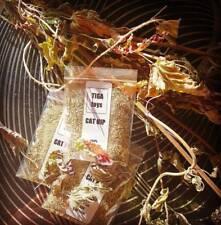 Organic dried fine loose Catnip Nepeta Cataria 5g bag homegrown by Tiga Toys