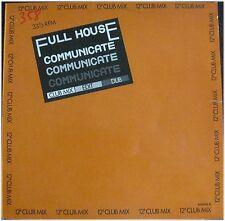 Full House, Communicate, VG/VG, Maxi Single  EP (6224)