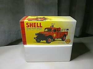 FIRST GEAR SHELL-OIL 19-2483 DODGE POWER WAGON BRUSH UNIT DIECAST VEHICLE NEW