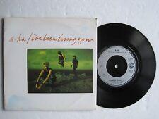 """a-ha - I'VE BEEN LOSING YOU -  7"""" 45 rpm vinyl record"""