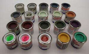 [3116] Humbrol Farben Set Color Enamel 20 Stück 14 ml Neu