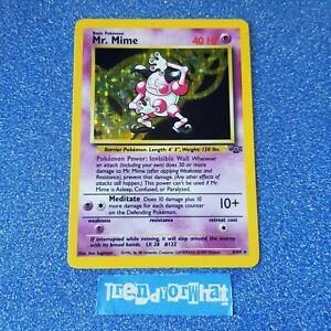1990 Vintage Pokemon cards wotc Mr Mime 6/64  HOLO - Base Set Jungle Card NM
