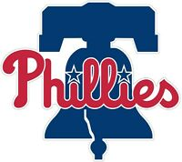 "Philadelphia Phillies New bell MLB Vinyl Decal - You Choose Size 2""-28"""
