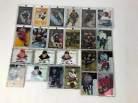1995-96 Pinnacle Clear Shots In The Crease Certified Future + Hockey Card Bundle