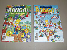 BONGO Comics Free-for-all!! Free Comic Book Day 2016 + 2017! Great Deal!!