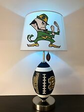 Notre Dame Fighting Irish Football Table Lamp College Football NCAA ND