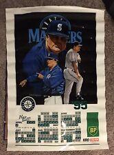 Vintage 1995 Seattle Mariners Team poster