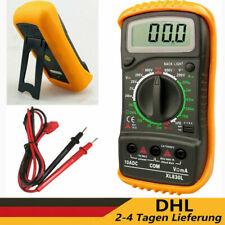 Digital LCD Multimeter Messgerät AC DC Strom Strommesser Voltmeter Amperemeter
