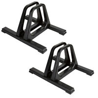 Gear Up Grandstand Single Bike Floor Stand Rack For Indoor Or Outdoor Use