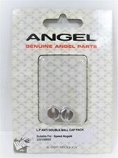 Wdp Angel Anti Double Ball Caps Gloss Silver Speed4