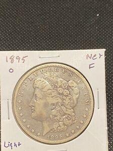 1895 o morgan silver dollar / better date / Semi Key