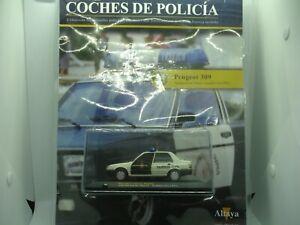 PEUGEOT 309 AGRUPACION DE TRAFICO-GUARDIA CIVIL (1991)  ALTAYA  1,43