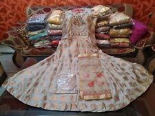 4 Days Delivery Guraranteed Readymade Stitched Gown Churidar Dupatta Free Ship