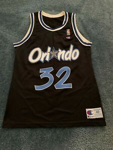 SHAQUILLE ONEAL SHAQ  REPLICA CHAMPION BRAND MAGIC JERSEY SIZE 40