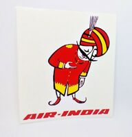 Air India Vintage Style Travel Decal, Vinyl Sticker, Luggage Label