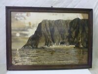 Norwegian America Line NAL Poster Photo Ocean Liner Ship Boat 1920s Cruising