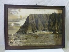 Norwegian America Line NAL Poster Photo Cruise Liner Ship Boat 1920s Travel