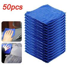 Microfiber Cleaning Cloth 50 Packs Towel Rag Car Polishing Detailing No-Scratch