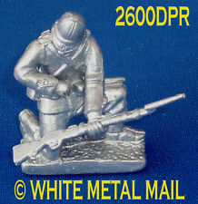 Military Lead Casting LA2600DPR 24th Foot Enlisted Man Kneeling Reloading