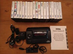 Sega Master System 2 (PAL) Console w/ 22 Games + Accessories - USED
