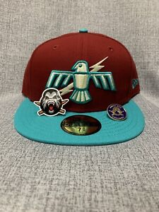 The Clink Room Thunderbirds Exclusive 59Fifty Fitted Hat Red And Teal 7-5/8