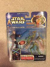 Star Wars Attack of the Clones Anakin Skywalker Deluxe Action Figure Hasbro