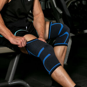 Knee Brace Support Compression Sleeve Gym Sports Running Joint Pain Relief