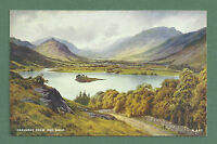 C1940'S E H THOMPSON POSTCARD GRASMERE FROM RED BANK, CUMBRIA, VALENTINE'S