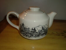 Vintage 80's Am & A's Buffalo Ny Skyline Collection Tea Pot *Extremely Rare