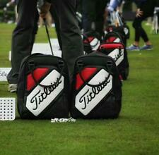 1- NEW Titleist Red, White, & Black Shoe & Shag Bag, Free Shipping
