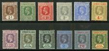 Leeward Islands  1912-22  Scott # 46-57  Mint Hinged Set