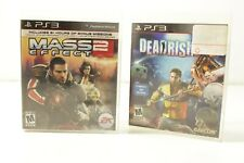 PS3 Game Lot of 2 Dead Rising 2 - Mass Effect 2