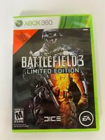 Battlefield 3 Limited Edition Xbox 360 Used Game Has Manual A14