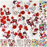 Quality Christmas Wooden + Resin Mix Buttons Craft Scrapbooking Sewing Cardmakin