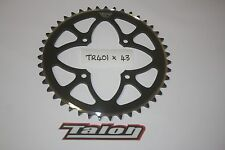 TALON TR 401 X 43- BLACK REAR SPROCKET - TRIALS - MON 4RT-BETA-GAS GAS JTS