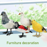 Fake Artificial Bird Realistic Home Decor for Home Garden  Yard