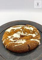 "Handmade Fresh ""baked"" Primitive Cinnamon Roll Pantry Cake FREE SHIP SCENTED"