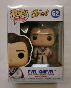 #62 Evel Knievel. Funko Pop! Icons. BNIB.