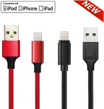 New iPhone Lightning Charger Cable For iPhone 6 7 8 Plus X XR 11 Data Sync Cord