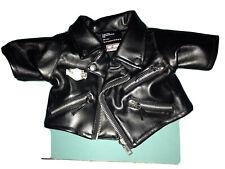 Harley Davidson Leather Jacket For Stuffed Bear