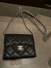 Chanel Caviar WOC Bag Wallet On Chain New Unused With Card