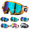 CW_ Men Women Skiing Goggles Windproof Anti-dust Ski Snow Motorcycle Glasses Eye