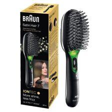 Braun Satin Hair 7 Elektrische Haarbürste BR710 in schwarz