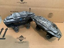 1990 NISSAN 300ZX TT TURBO ALUMINUM FRONT BRAKE CALIPERS OEM